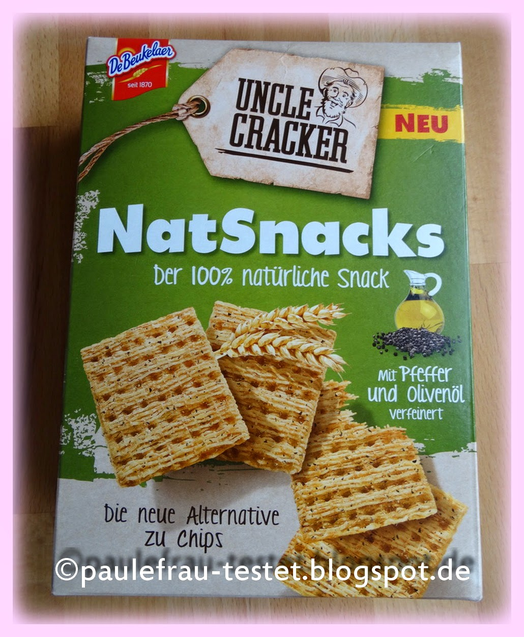 paulefrau s testblog uncle cracker natsnacks die alternative zu chips. Black Bedroom Furniture Sets. Home Design Ideas