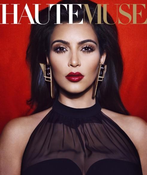 Fashion Beauty Glamour Kim Kardashian Covers Hautemuse