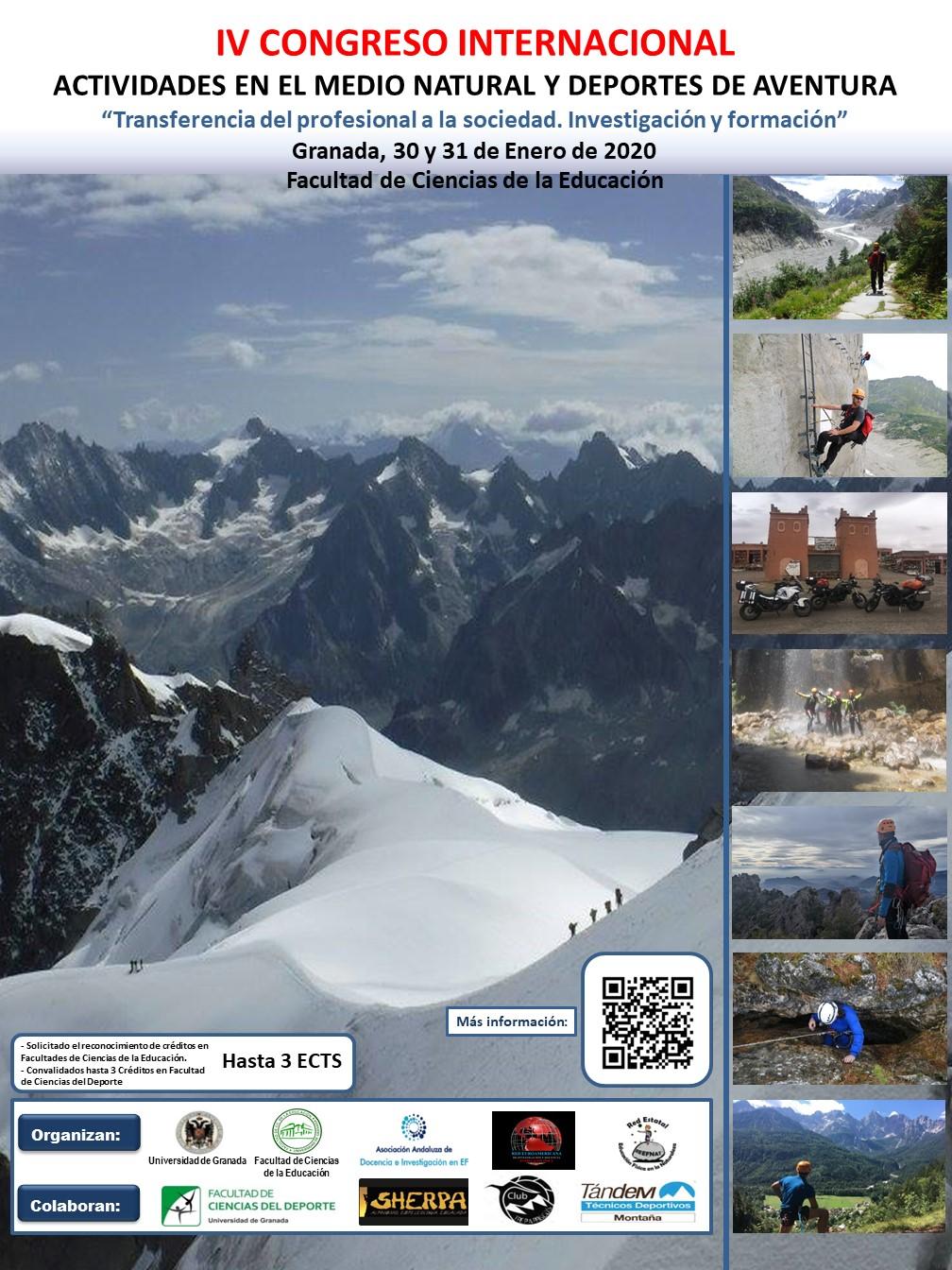 IV Congreso Internacional sobre Actividades en el Medio Natural y Deportes de Aventura