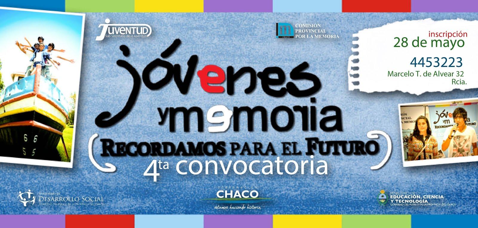 Jóvenes y Memoria 2013