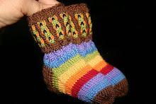 Rainbow Warriors Booties