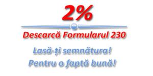 Redirectioneaza 2% -Descarca formularul 230