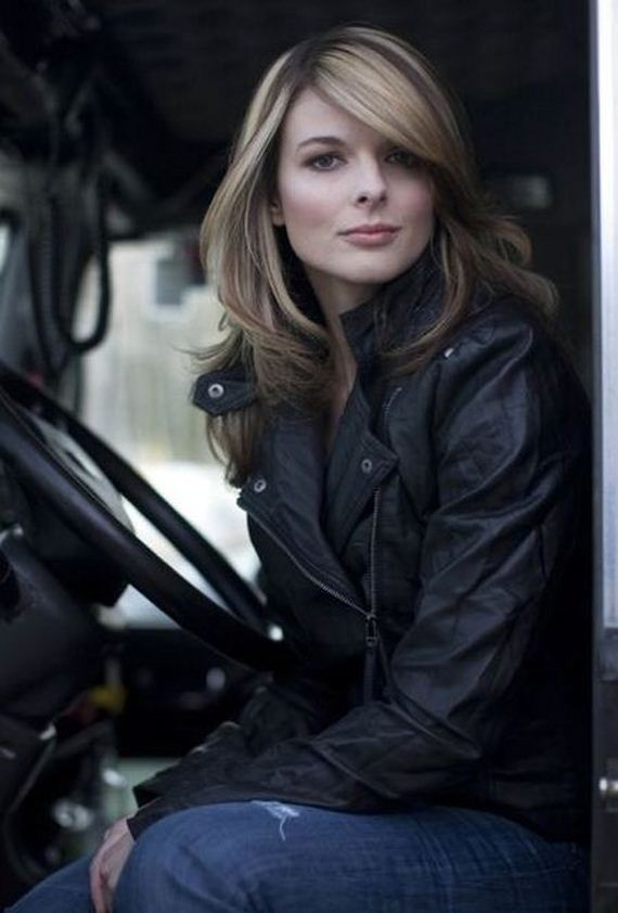 Lisa Kelly - the cutest truck driver