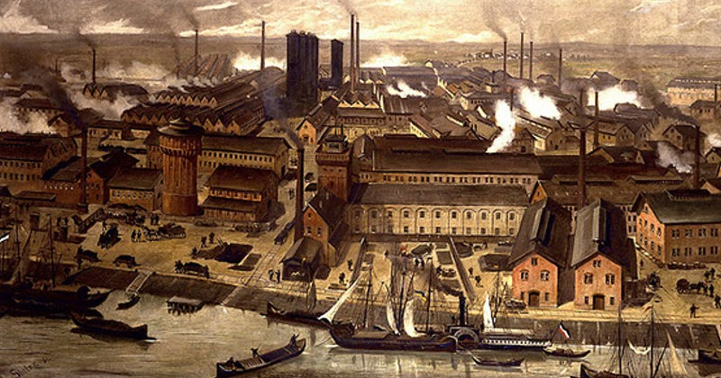 the growth and industrialization of manchester