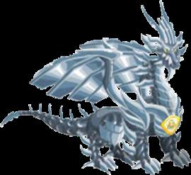 imagen del dragon metal puro