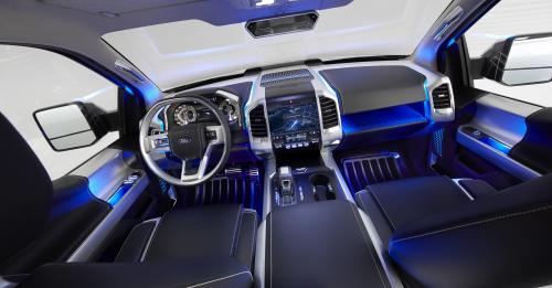 Ford Atlas Concept Truck Debut at Detroit Auto Show