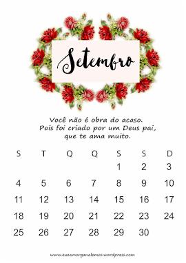 Calendário de postagem do Blog