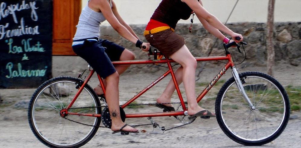 alquiler de bicicletas tándem