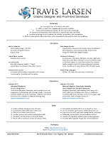resume format for web designer web designer cv sample example job