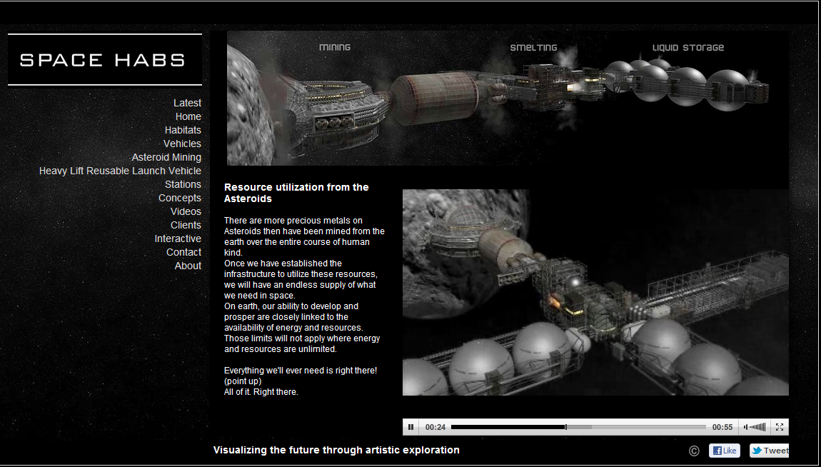 Asteroid Mining Methods images