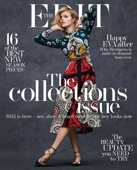 Model,  Actress: Eva Herzigova for The Edit Magazine