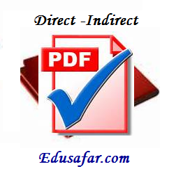 Direct - Indirect Speech