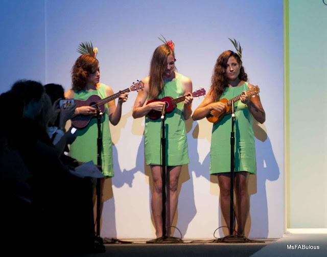ukulele fashion show