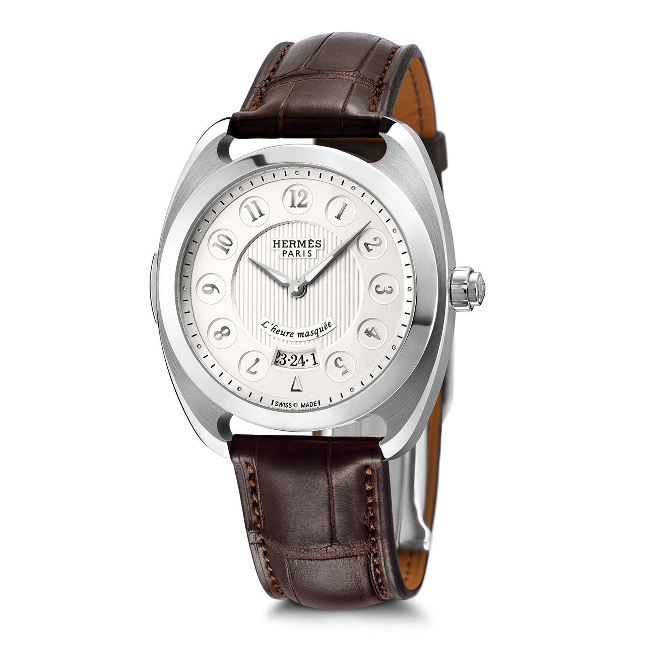 Hermès Dressage L'heure masquée Mechanical Watch