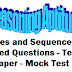 Reasoning Aptitude -Online Test- Reasoning Ability Questions Based on Series & Sequence