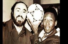 Pelé e Pavarotti