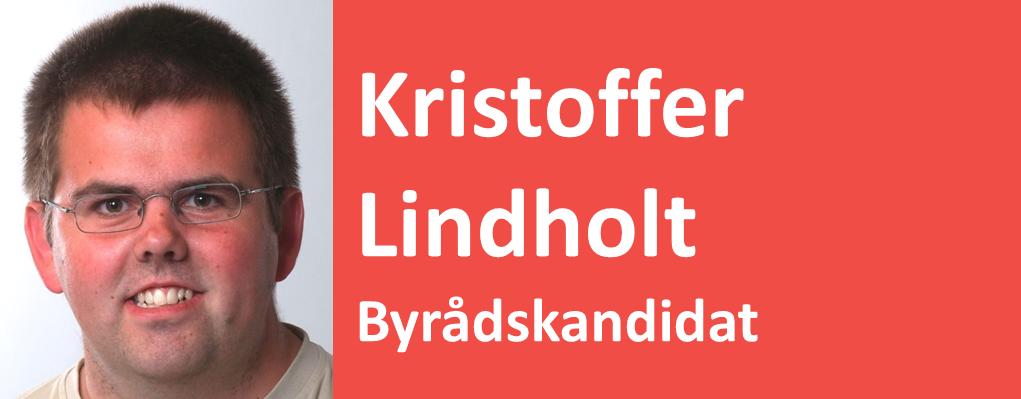 Kristoffer Lindholt Byrådskandidat