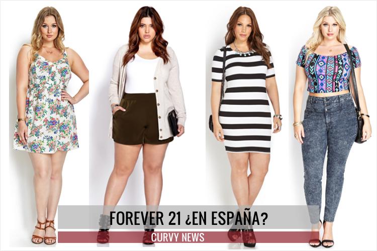 FOREVER 21 ESTRENA E-SHOP EN ESPAÑOL · Curvy News