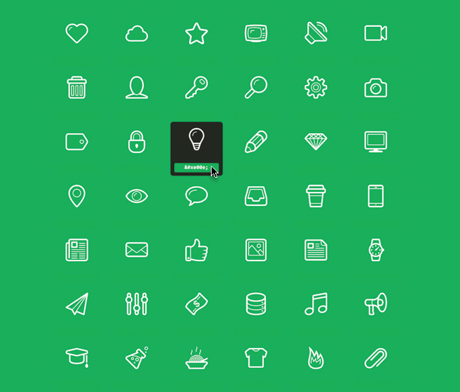 icon pack to download free outlines