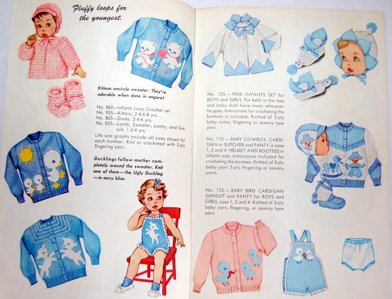 Mommy\'s Apron Strings: Vintage Knit O Graf
