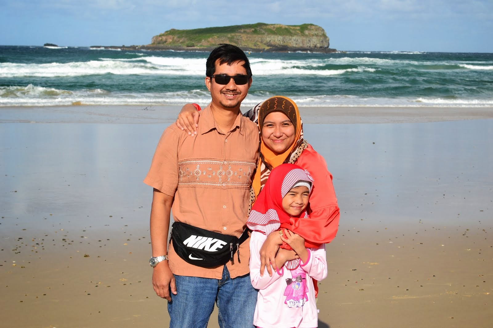 Me and my family @ New South Wales, Australia