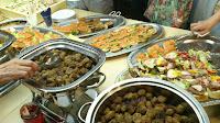 軽食(スウェーデン料理の数々)