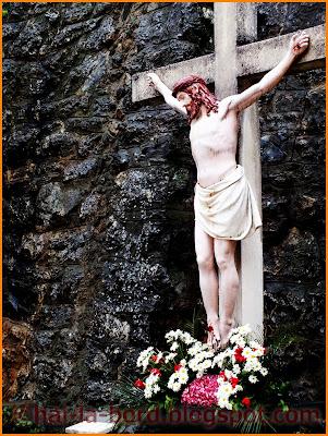iisus pe cruce baile herculane paste 2012