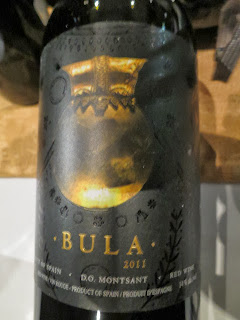 Wine Review of 2011 Bodegas Bula from Montsant, Spain