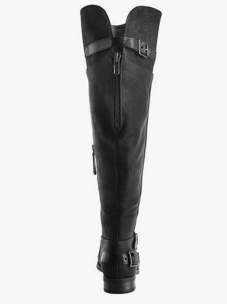 Bergamo Wide Width Over the Knee Buckle Boots