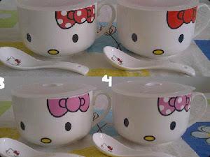 Mangkok Keramik Cangkir Kitty