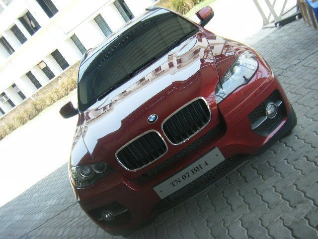 Vijay S Bmw X6 Parked In Vijay S Chennai House Celebrity