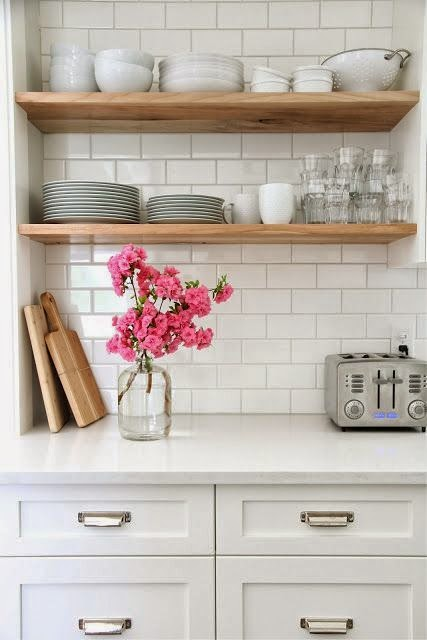 ... Make The Switch To A Kitchen With All Open Shelves Instead Of Upper  Cabinets? Better Yet   No Upper Cabinets Or Shelves For A Clean Minimalist  Approach?