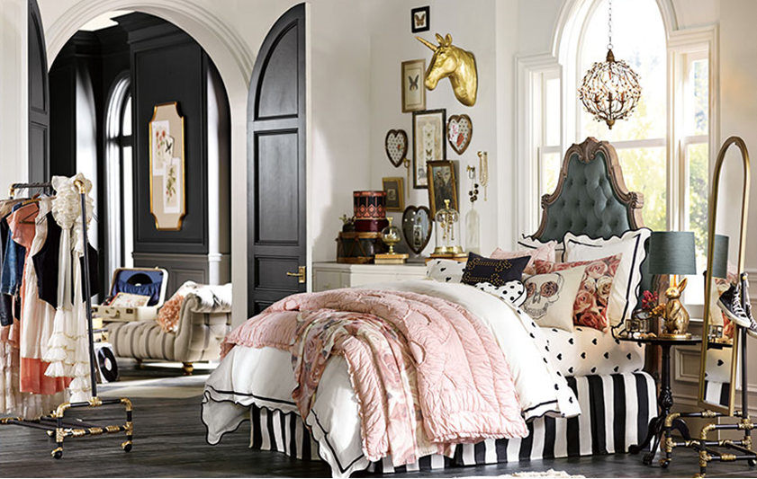 Gossip Girl Bedroom the style files: blair inspired room: gossip girl decor