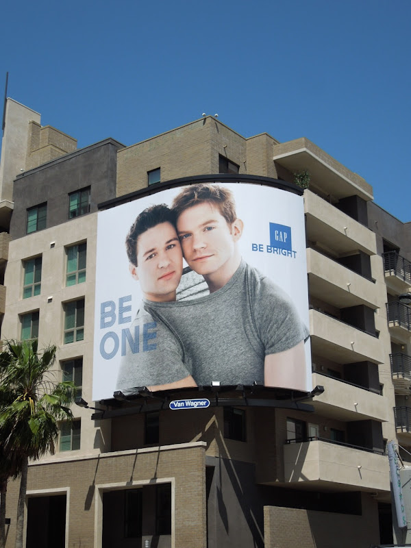 Gap Be One billboard
