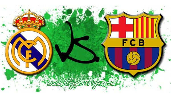 jadwal real madrid vs barcelona terbaru
