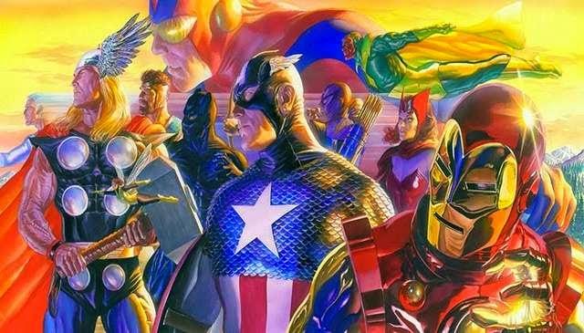 Los Vengadores por Alex Ross