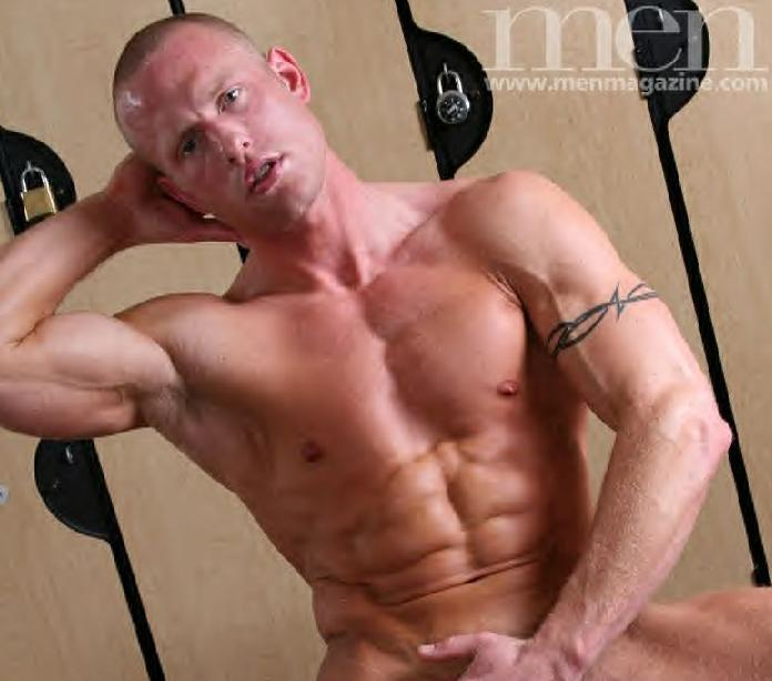Gay porn star Aaron Savvy shirtless dvd apps