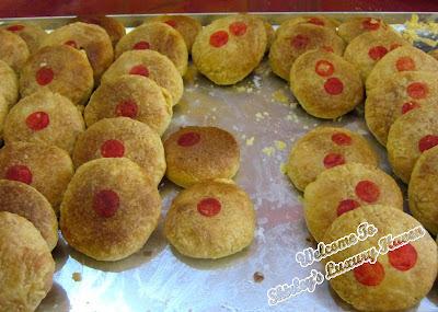 mei zhong yuan confectionery sun cakes