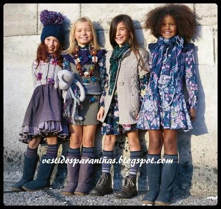 bellos modelos de invierno para niñas