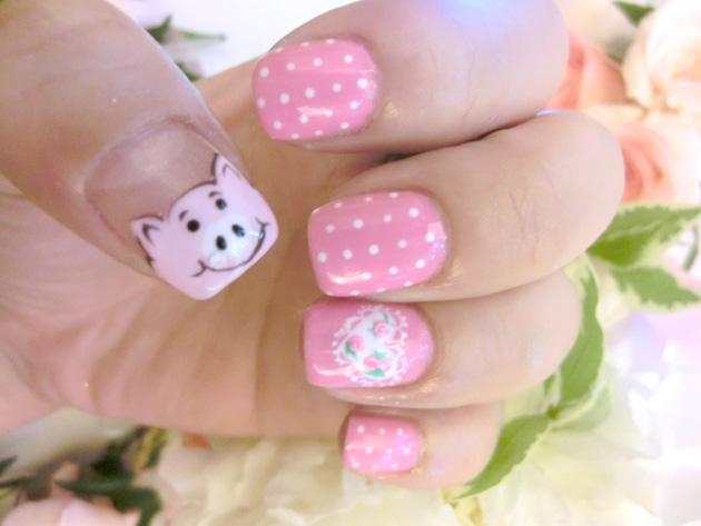Pig nail art image collections nail art and nail design ideas qiuqiu hens  night part two - Pig Nail Art Choice Image - Nail Art And Nail Design Ideas