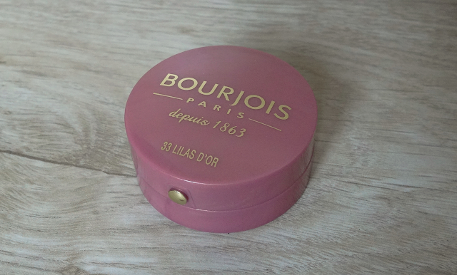Róż do policzków Bourjois 33 Lilas D'or