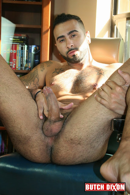 Hairy and Hung Hunk Rikk York Jerks off at BUTCH DIXON 04