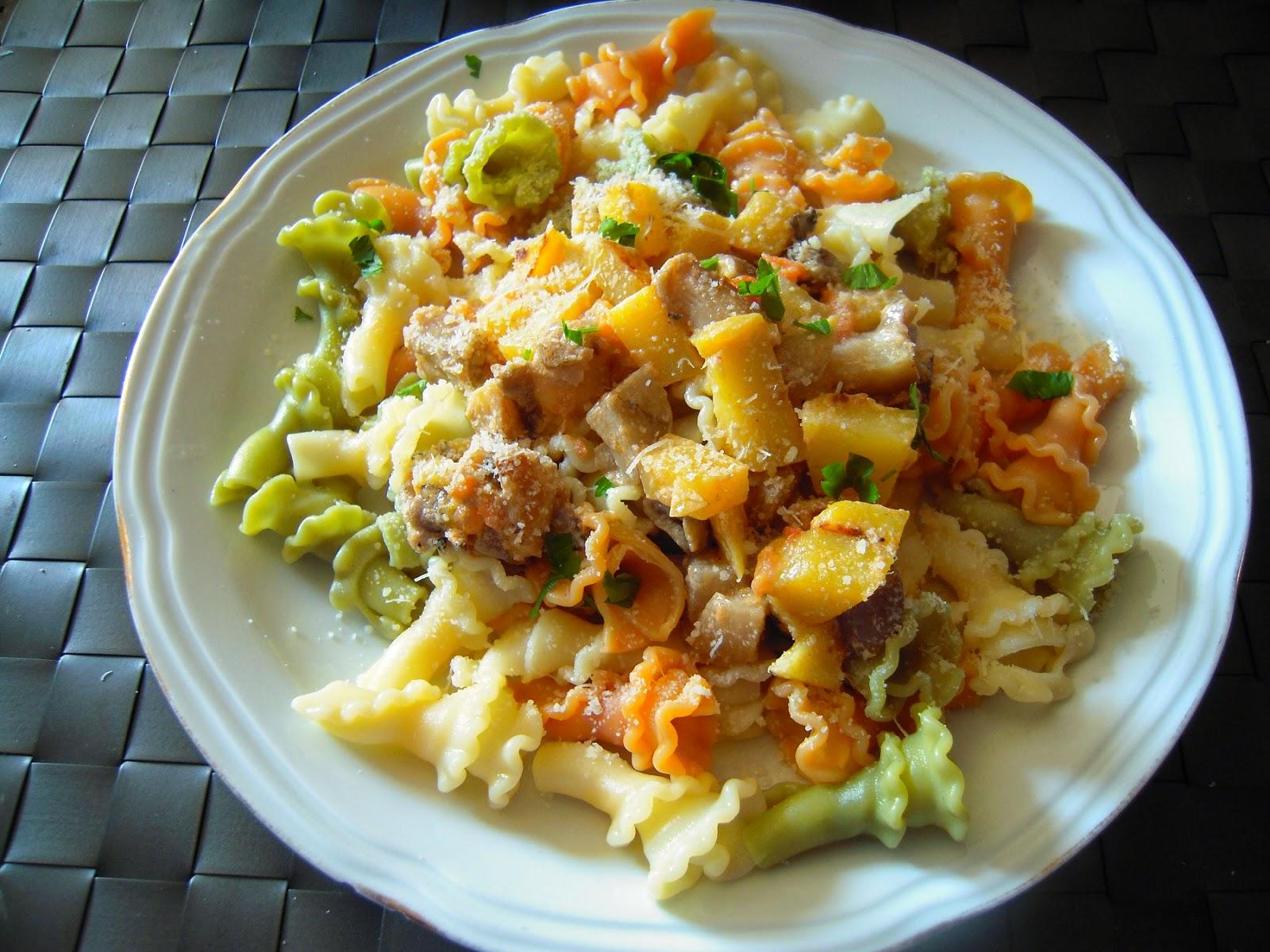 El placer de cocinar pasta con setas y mango for Cocinar noodles