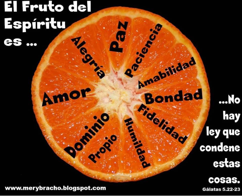 Postales cristianas El fruto del Espíritu de Dios, fruto del Espíritu Santo