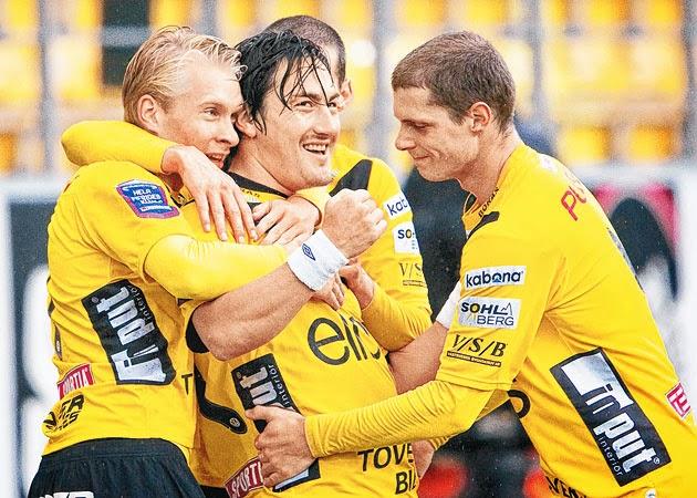 Elfsborg - to score 1st goal!