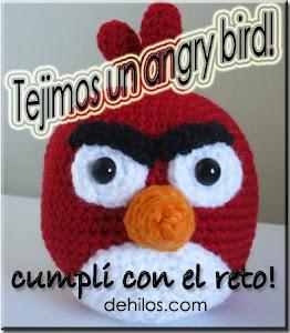 Certificado reto cumplido Angry bird!!!