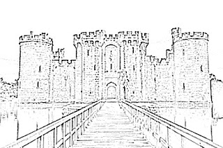 Bodiam Castle Sketch