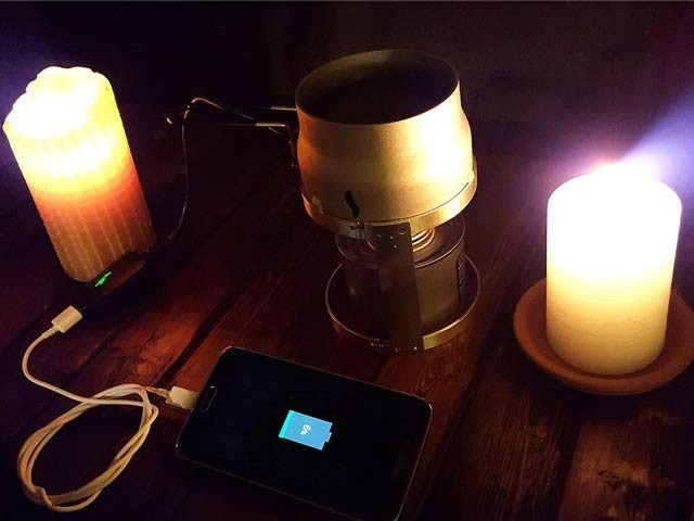 Candle Charger
