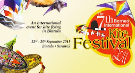 The 7th Borneo International Kite Festival 2011!!!