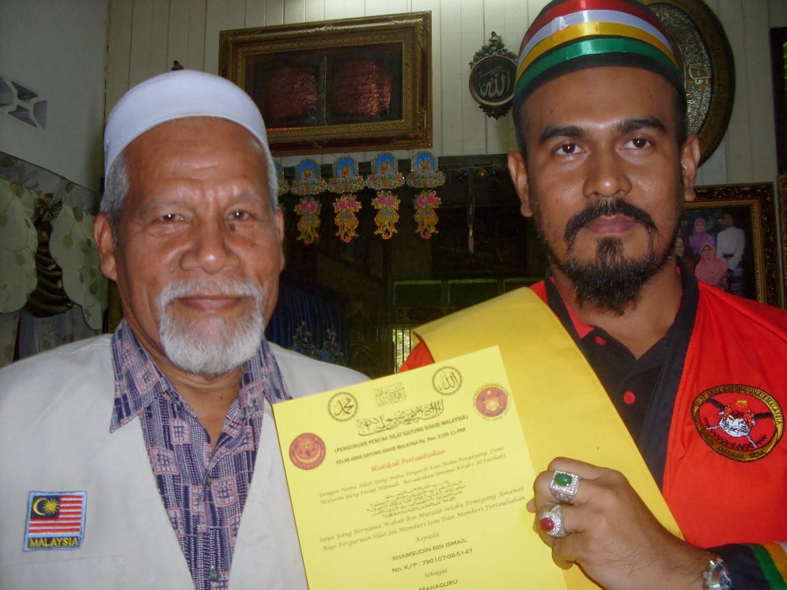 Terima Ijazah Mahaguru Drpd Guru Tua Tok Guru Wahab b Mutalib
